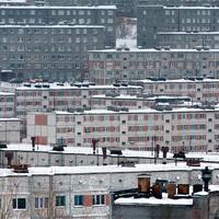 Жилые дома Кировска