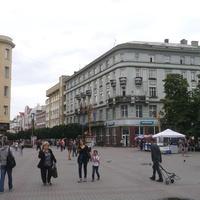Пешеходная улица города