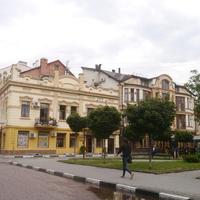 Жилое здание города