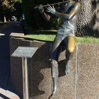 """Скульптура """"Флейтист"""""""