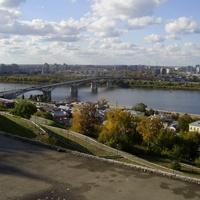 Н. Новгород - Ул. Рождественская - Река Ока