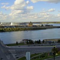 Н. Новгород - У слияния рек Оки и Влоги