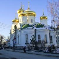 Ул. Сергиевская - Церковь Сергия Радонежского