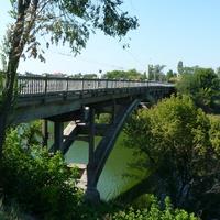 Мост через реку Рось