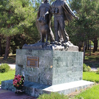 Геленджик. Памятник пограничникам.