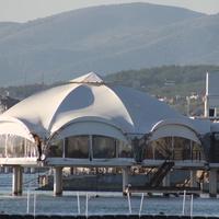 Морской ресторан на центральной набережной.