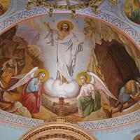 """Геленджик. В церкви Георгия Победоносца в жилом комплексе """"Акватория""""."""