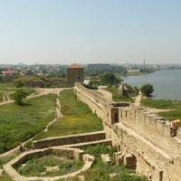 Аккерманская крепость и вид на город