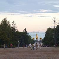 """Центральная площадь Чернигова """"Красная площадь"""""""