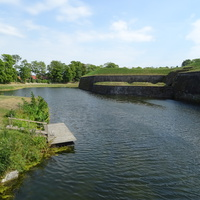 Ров вокруг крепости  Аренсбург