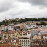 Замок Святого Георгия и жилые дома
