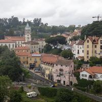 Вид на жилые дома