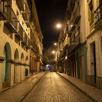 Ночная улица города
