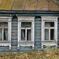 Наличники на старом доме