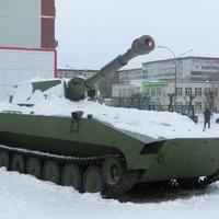 "Самоходная артиллерийская установка 2С1 ""Гвоздика"""