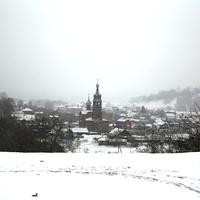 Вид на Введенскую старообрядческую церковь