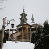 Храм Покрова Божией Матери на Высоком 1650 и 1800 г.