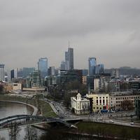 Вид на город с Замковой горы