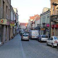 Улица города Кельце