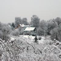 В Дятлове зимой 2018 г.