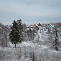 Деревня Дятлово. Зима 2012