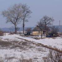 Крайня хата вул. Хліборобів 49,вид з дороги на Копійчине.