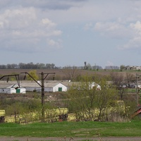"""Вид з боку села Ревівка на ВАТ""""ПЛЯКІВКА""""2012 р."""