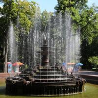 Фонтан в Пушкинском парке