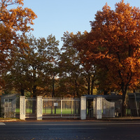 Ворота в парке Александрия