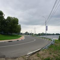 Москворецкая улица, дорога в учебно-тренировочный центр олимпийского резерва