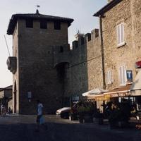 Внешние стены города
