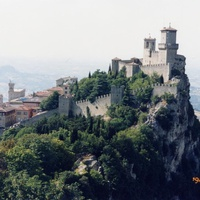 Крепость на самой высшей точке республики