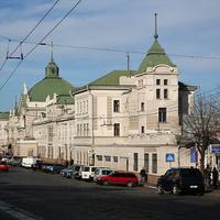 Черновцовский железнодорожный вокзал