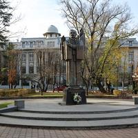 Памятник Ю. Федьковичу