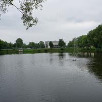 Кожурновский пруд, фонтан