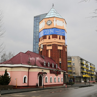 Бывшая водонапорная башня