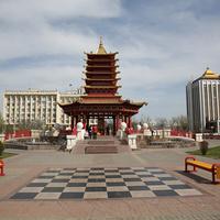Шахматная поле на площади Ленина