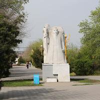 Скульптура в парке Дружбы