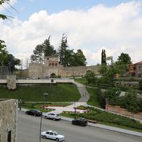 Вид на замок Ираклия II