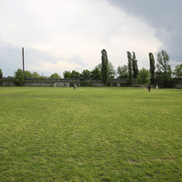 Футбольное поле внутри Кварельской крепости
