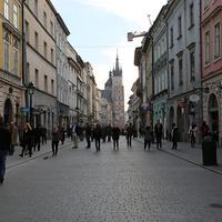 Городская улица Кракова