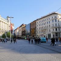 Улица города Брно