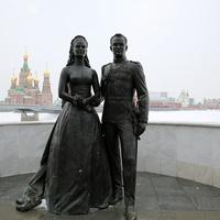 """Памятник """"Молодожёны"""""""