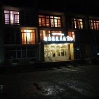 Гостиница Валдай, ночной вид