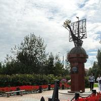 """Памятник """"Морякам первопроходцам, открывателям Северных земель"""""""