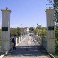 Дамба Корсунской ГЭС