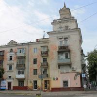 Пересечение улиц Гагарина и Ленина