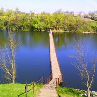 Мост через реку