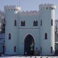 Вход в парк и музейный комплекс