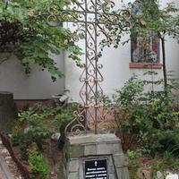 Свято-Преображенский храм. Во дворе.